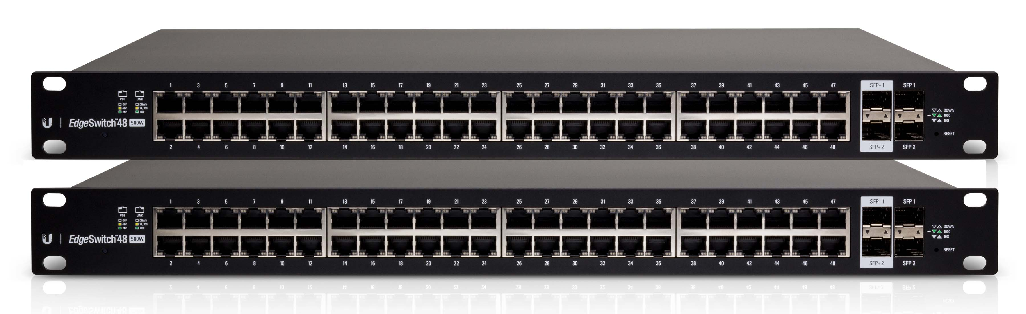 UBNT EdgeSwitch 48 Port 500W PoE+ Layer3 Yönetileblir Switch